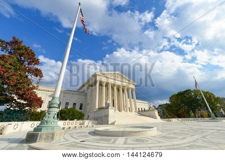 United States Supreme Court Building - Washington DC, USA