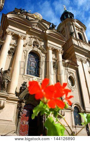 The Church of St. Nicholas in Prague Czech Republic