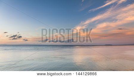 Sunrise Over Bohol Sea