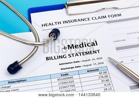 Healthcare Cost And Insurance Concept
