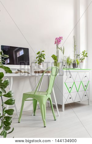 Home Office In Harmony With Nature
