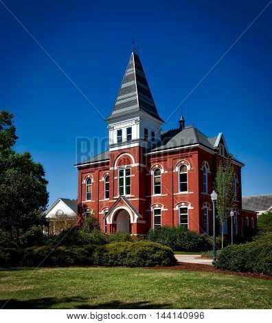 Hargis Hall. Auburn University. Alabama