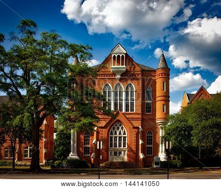 University Of Alabama. Tuscaloosa. Clark Hall