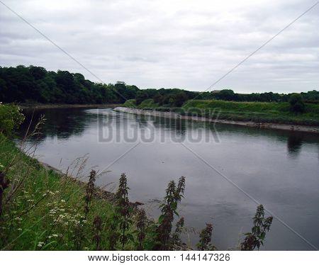 The River Wear Near Sunderland Looking East