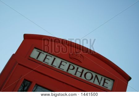 English Red Phone Box