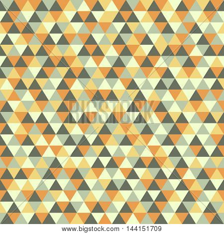 Colorful seamless triangle vector illustration pattern