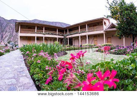 Beautiful Hotel Landscaping In Peru