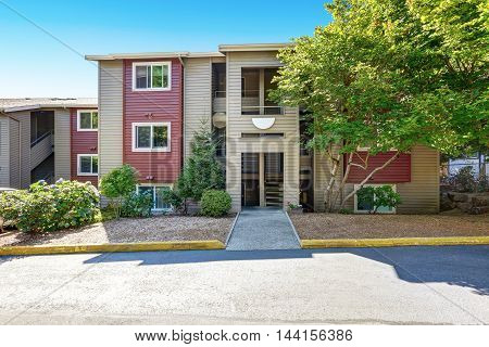 American Residential Condominium House.