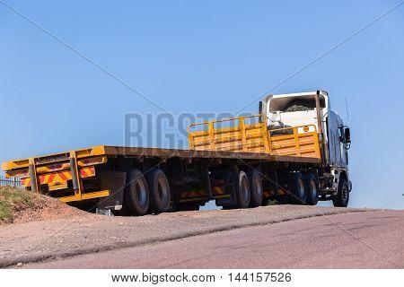 Truck Yellow Trailers