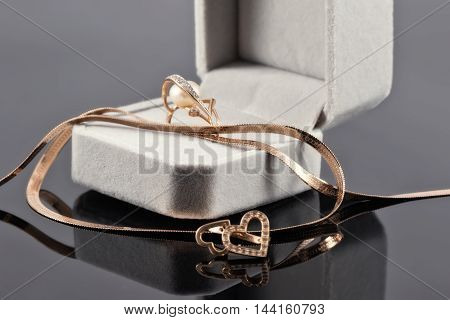 Gift Set Of Gold Jewelry