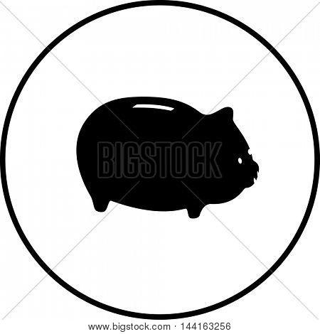 piggy bank symbol