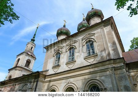 Former Epiphany Church (now - Kalyazin Local Lore Museum behalf of Nikolsky) Kalyazin Russia