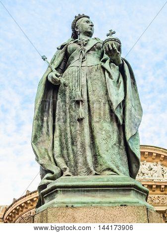 Queen Victoria Statue Hdr