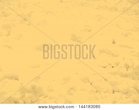 Snow Background Sepia