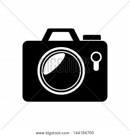 camera modern photography device element pictures vector illustration