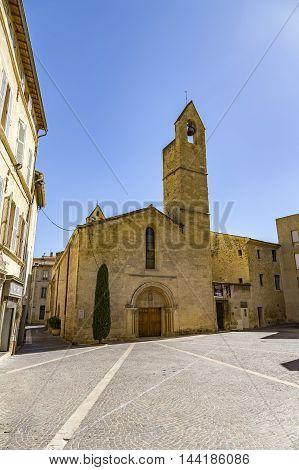 Old Church Saint Laurent In Salon De Provence
