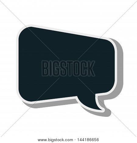 bubble text message design chat communication elements vector illustration