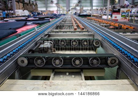 Conveyor line production line of the factory