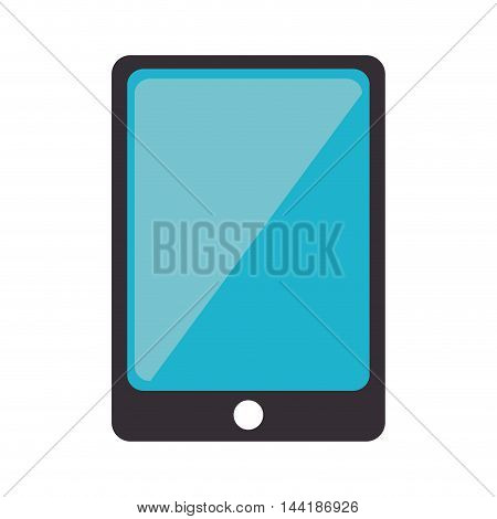 smartphone phone technology device touch screen vector illustration