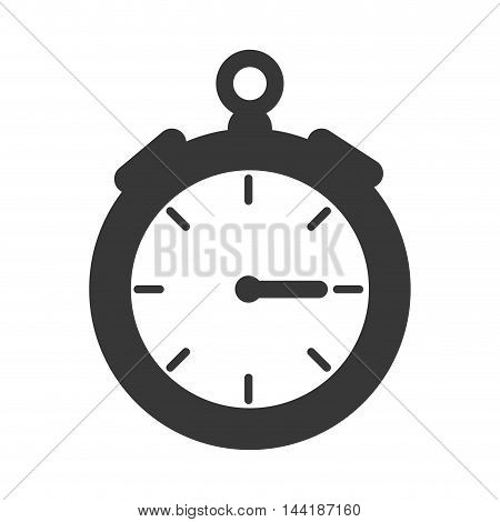 time chronometer device precision counter sport vector illustration