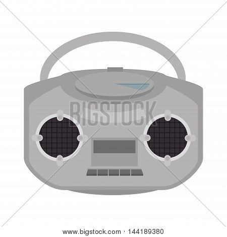 music player portable equipment  technology device vector illustration