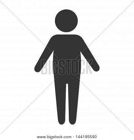 body man male person human model silhouette vector illustration