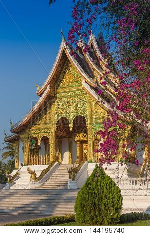 The famous marble temple Benchamabophit from Bangkok, Thailand.