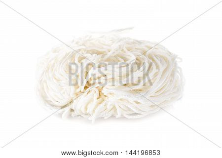 Vietnamese noodle or Pho on white background