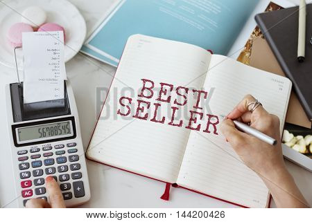 Best Seller Buying Sale Shopping Business Graphic Concept