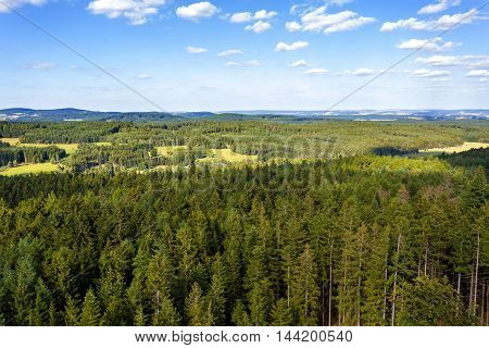 Czech Landscape Known As Czech Canada
