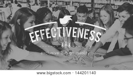 Effectiveness Productivity Efficiency Excellence Organization Concept