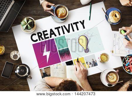Brainstorming Ideas Teamwork Explore Concept
