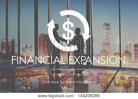 Financial Expansion Business Cycle Economy Concept