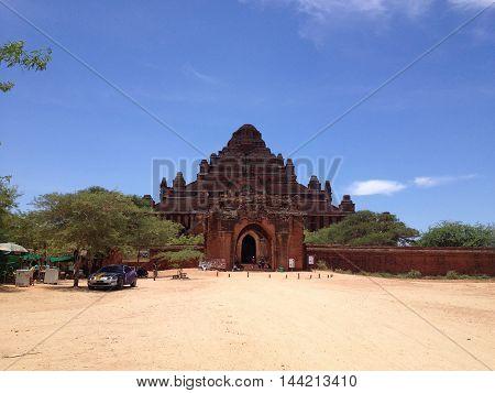 BAGAN MYANMAR - MAY 28 : Ancient Temples in Bagan Myanmar on May 28 2014