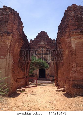 Ancient Temples and pagoda in Bagan Myanmar