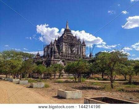 Ancient Temple and pagoda in Bagan Myanmar