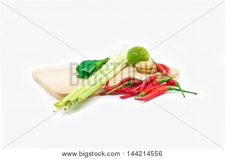 Tomyam Thai Food Isolated