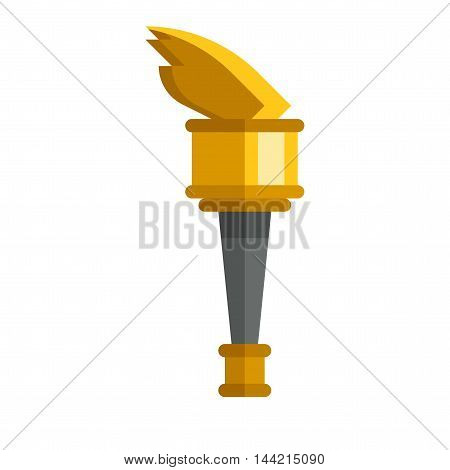 Trophy sports award and winner awards in flat design style. Sports award vector and gold winner cup sports award. Sports awards trophy victory prize cup achievement, champion win competition.