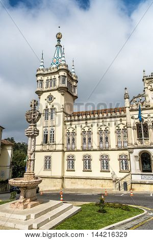 Panoramic view of Municipality of Sintra (Camara Municipal de Sintra) Portugal