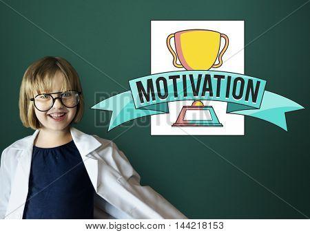 Motivation Goals Achievement Success Award Concept