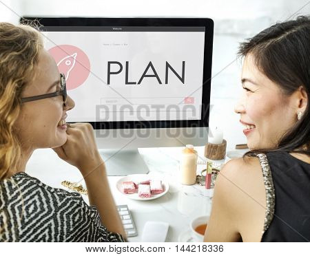 Plan New Business Launch Concept