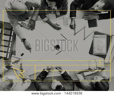 Web Design Creativity Template User Interface Technology Concept