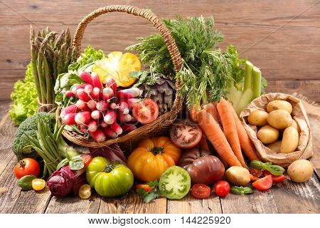 raw vegetable