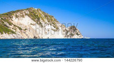 Seascape With Marathonisi Islet