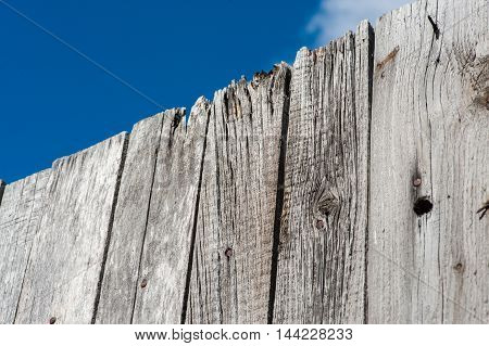 Grey Wood  Old Planks Texture Background
