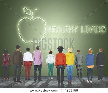 Healthy Living Healthcare Nutrition Concept