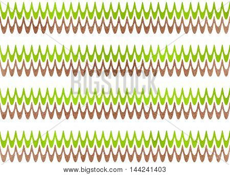 Abstract Wavy Striped Background.