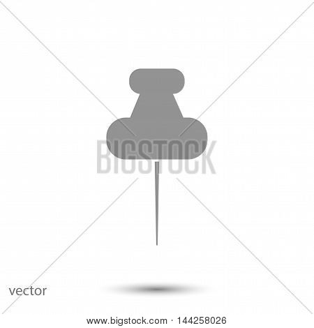 pushpins icon, vector best flat icon EPS