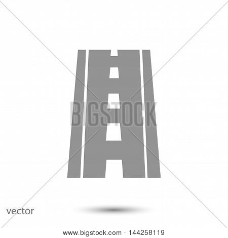 road icon, vector best flat icon EPS
