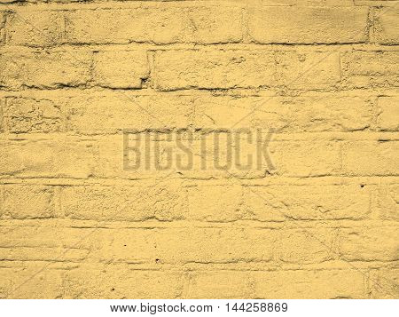 White Brick Wall Sepia